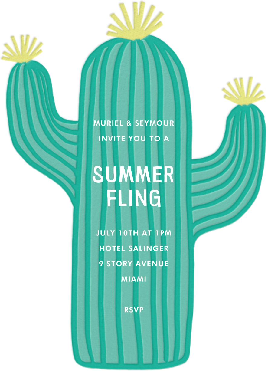 Cactus Hour - Meri Meri - Casual entertaining