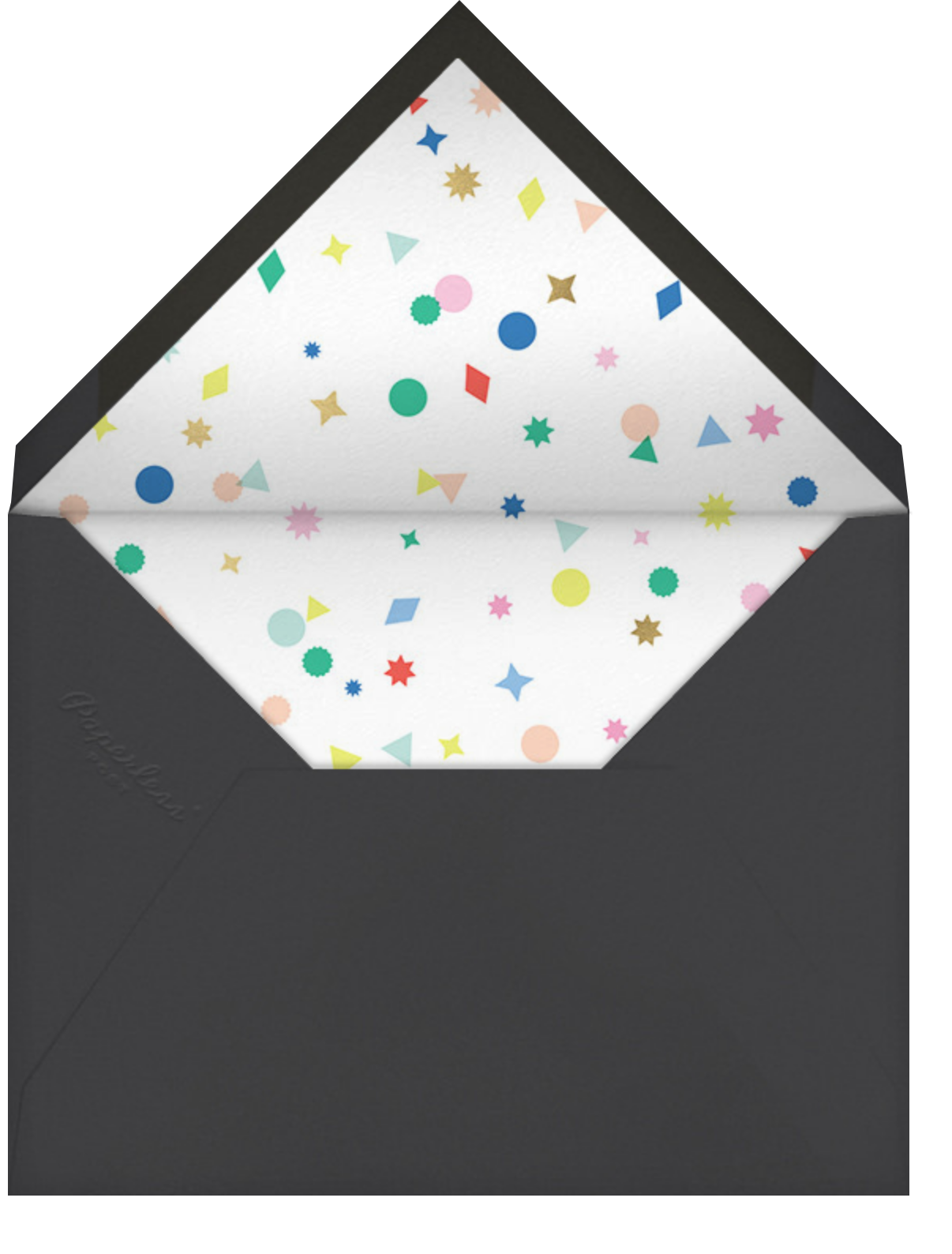 Little Charmers - Meri Meri - Casual entertaining - envelope back