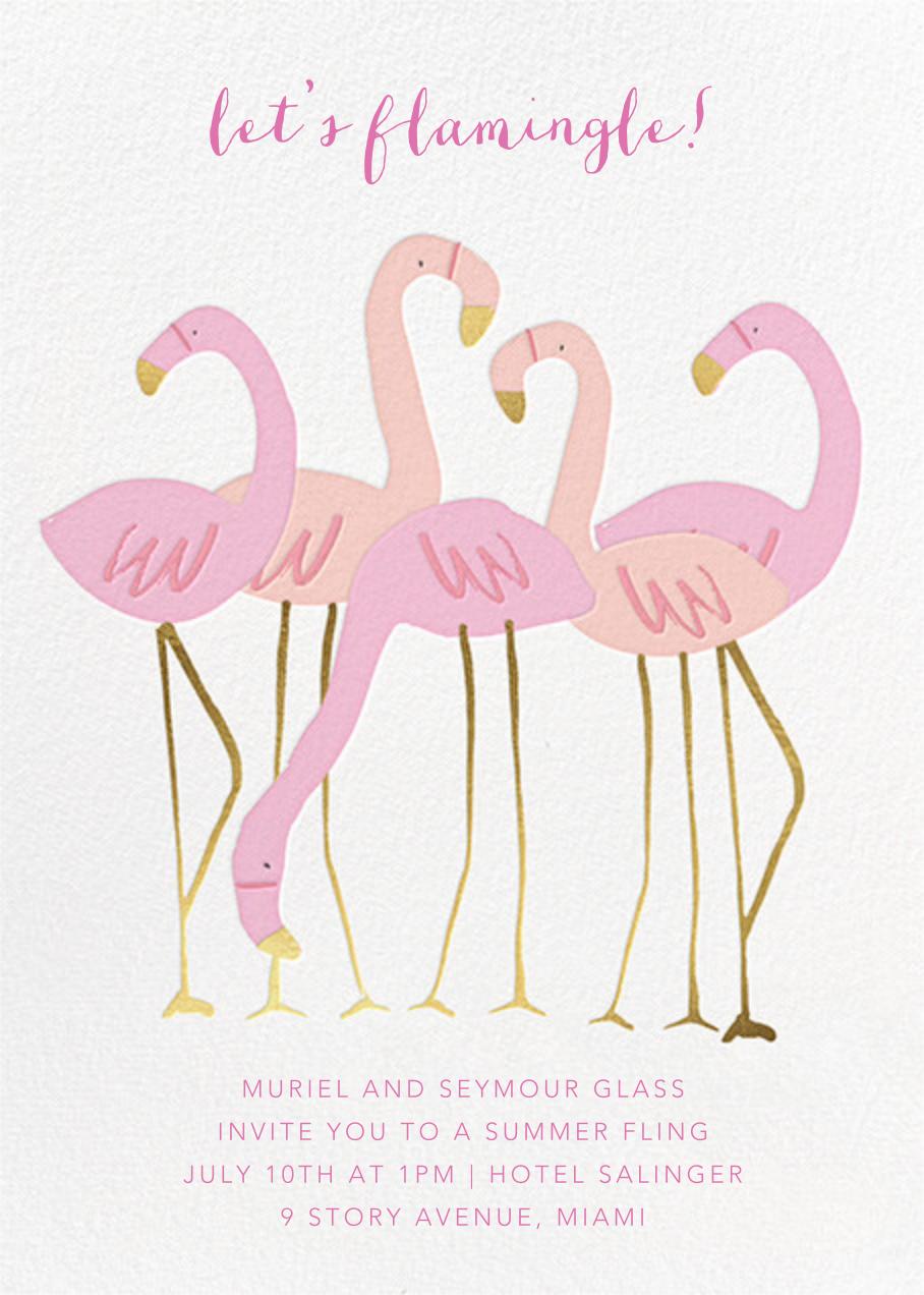 Let's Flamingle - Meri Meri - Casual entertaining