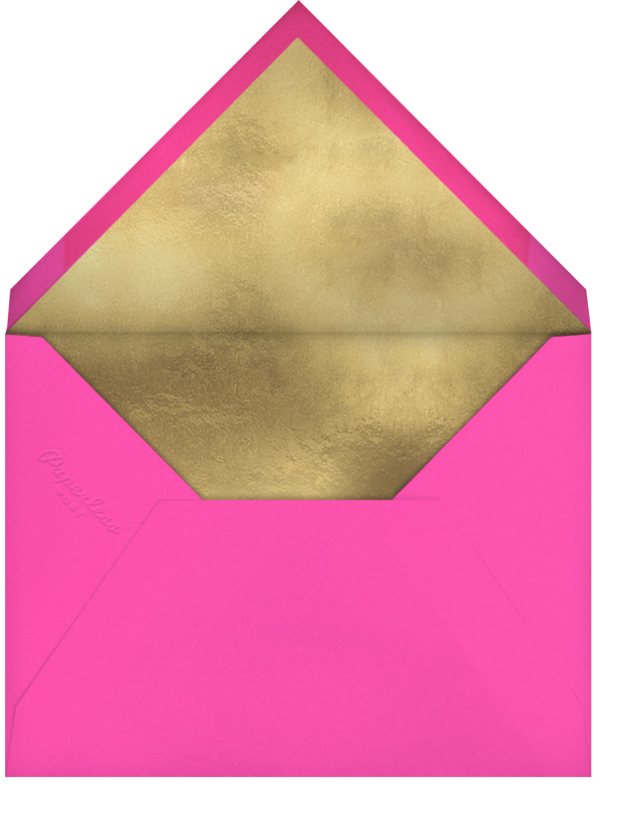 Dvaar (Save the Date) - Schiaparelli - Paperless Post - Save the date - envelope back