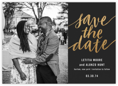 Evelina (Photo) - Caviar - Paperless Post - Modern save the dates