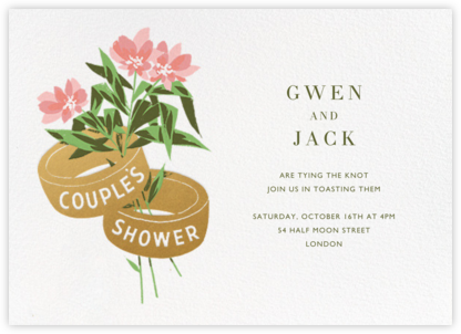 Ring Around the Posy - Paperless Post - Bridal shower invitations