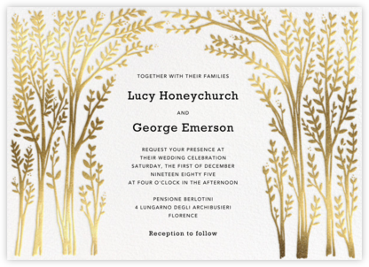 Louisa II - White - Paperless Post - Wedding Invitations