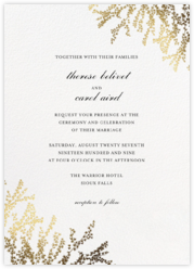 Classic Wedding Invitations Online At Paperless Post