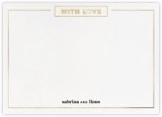 Chronology (Stationery) - White