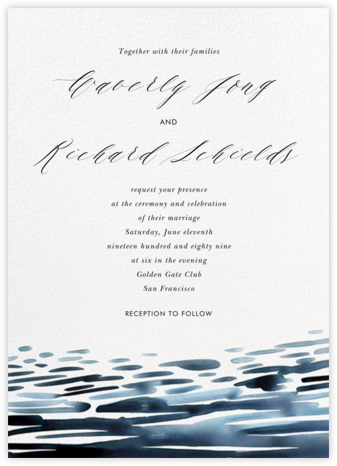 Girandella (Invitation) - Paperless Post - Modern wedding invitations