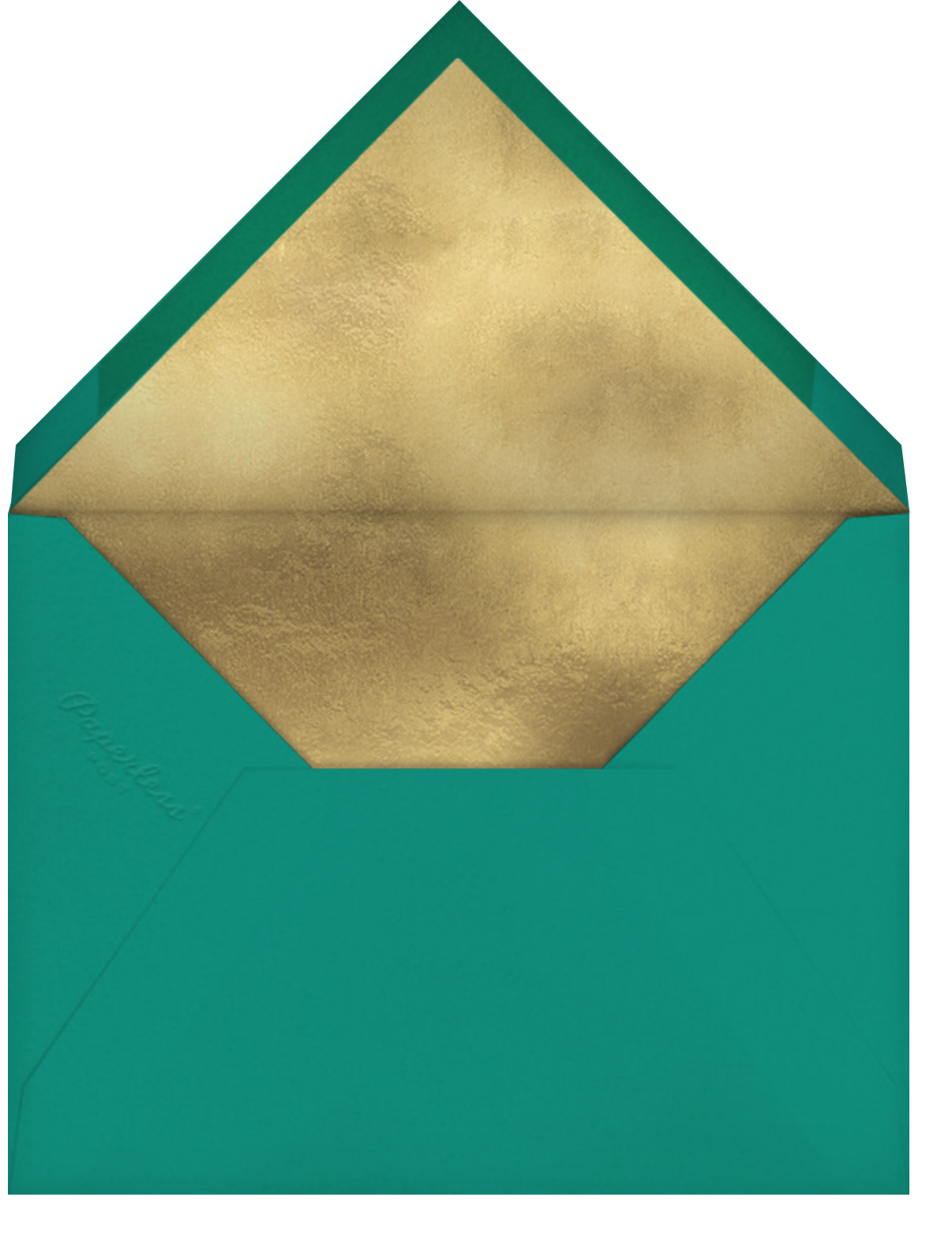Dvaar (Invitation) - Teal - Paperless Post - All - envelope back