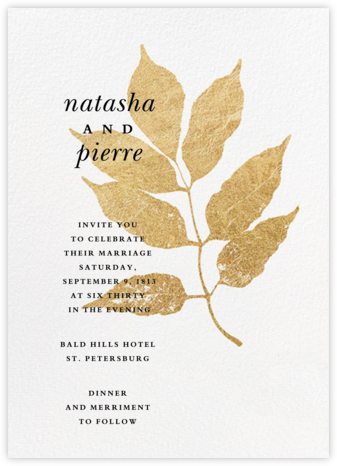 Copsewood (Invitation) - Paperless Post - Wedding Invitations