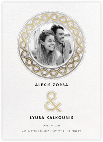 Tesserae Photo - Paperless Post - Wedding Weekend Invitations