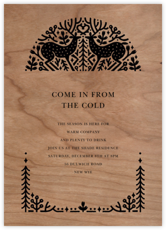Sundance - Paperless Post - Winter Party Invitations