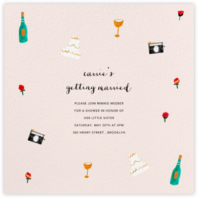 You Can Wear the Bridesmaid's Dress Again - Paperless Post - Bridal shower invitations