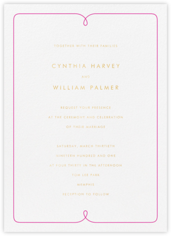 Loulou - Crane & Co. - Wedding Invitations