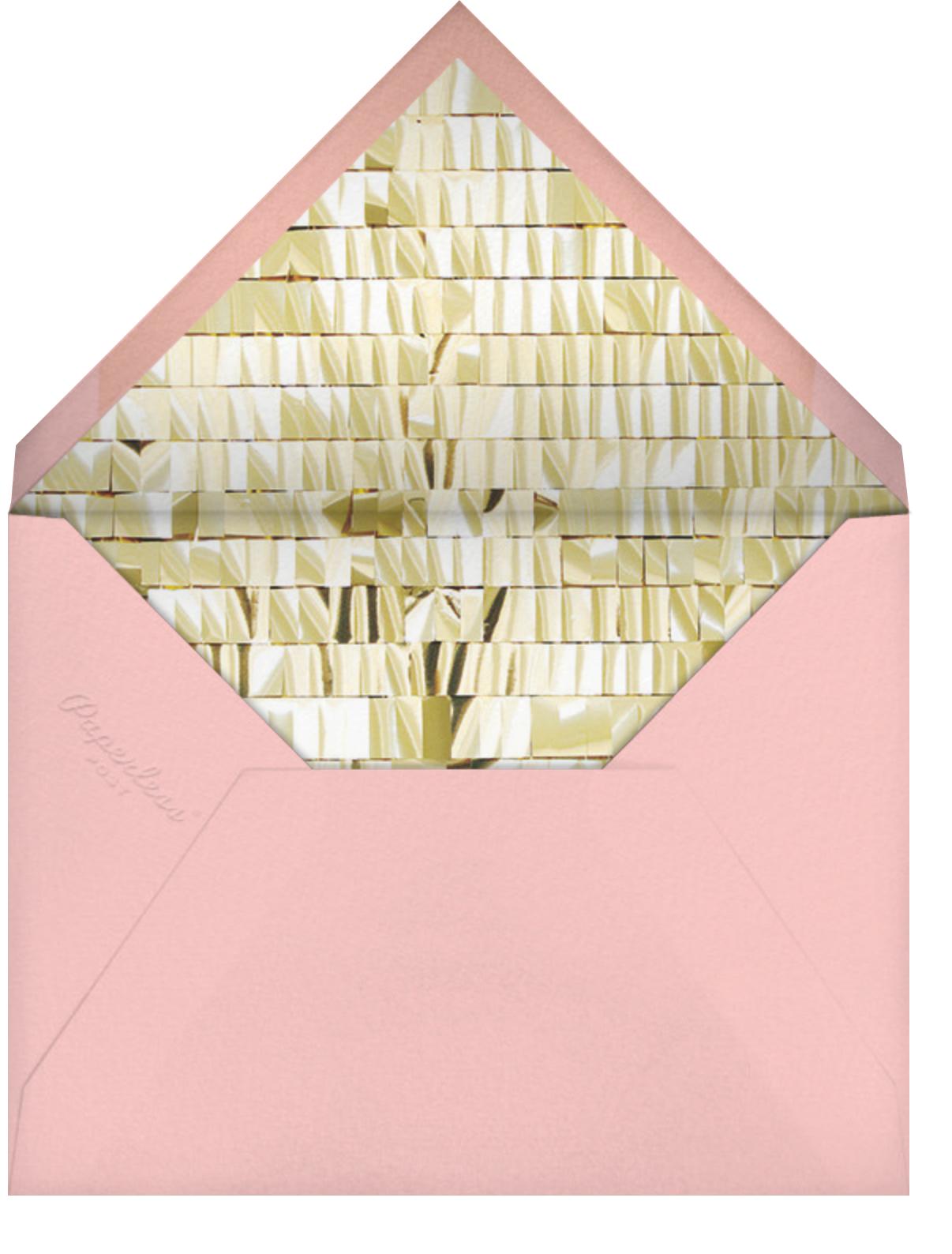Chorus - Pink - CONFETTISYSTEM - Kids' birthday - envelope back