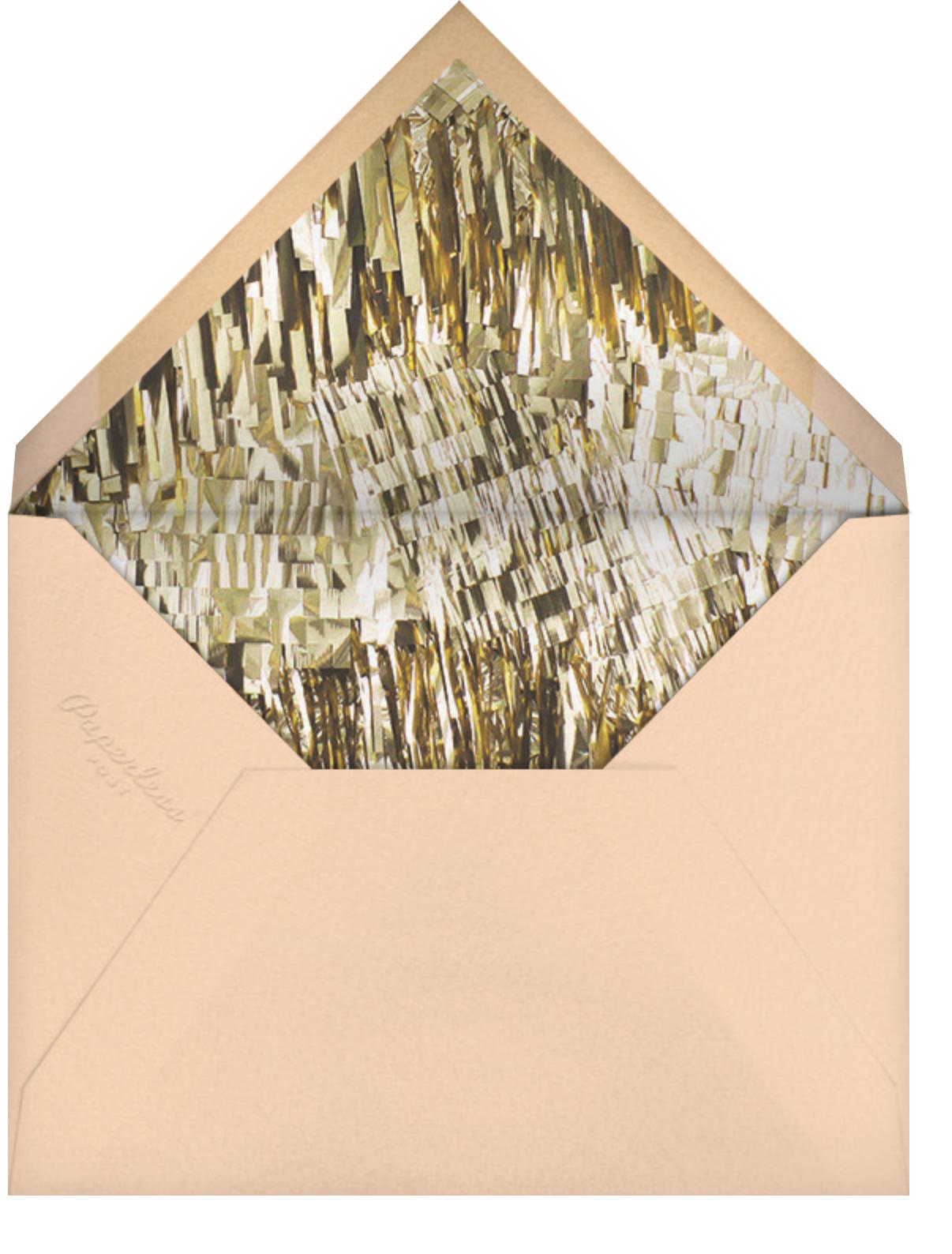 Flutter Photo - Pink - CONFETTISYSTEM - Adult birthday - envelope back