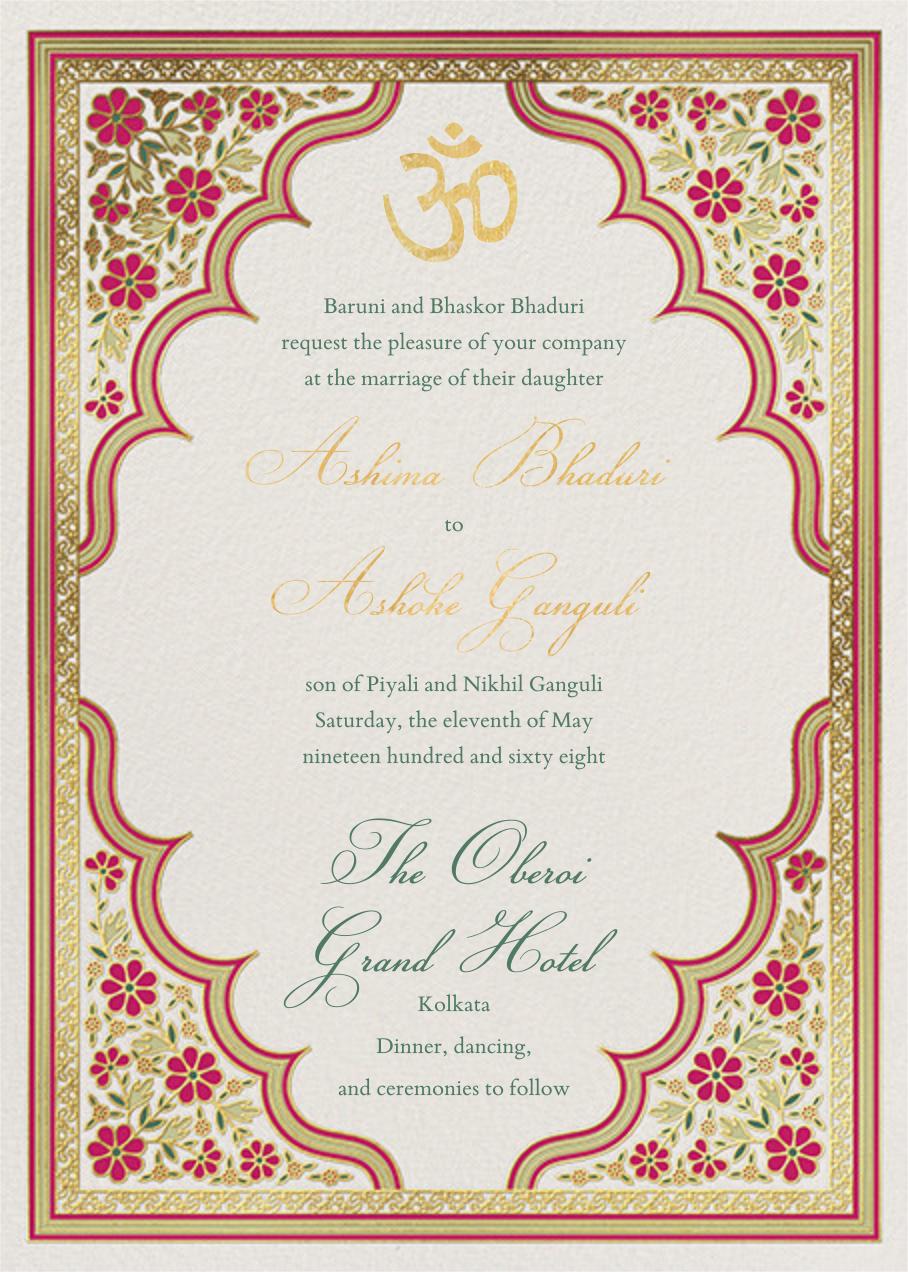 Niwas (Invitation) - Paperless Post - Wedding invitations