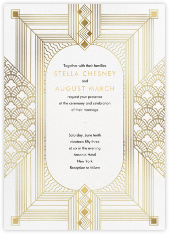Ruhlmann (Invitation) - Paperless Post - Wedding Invitations