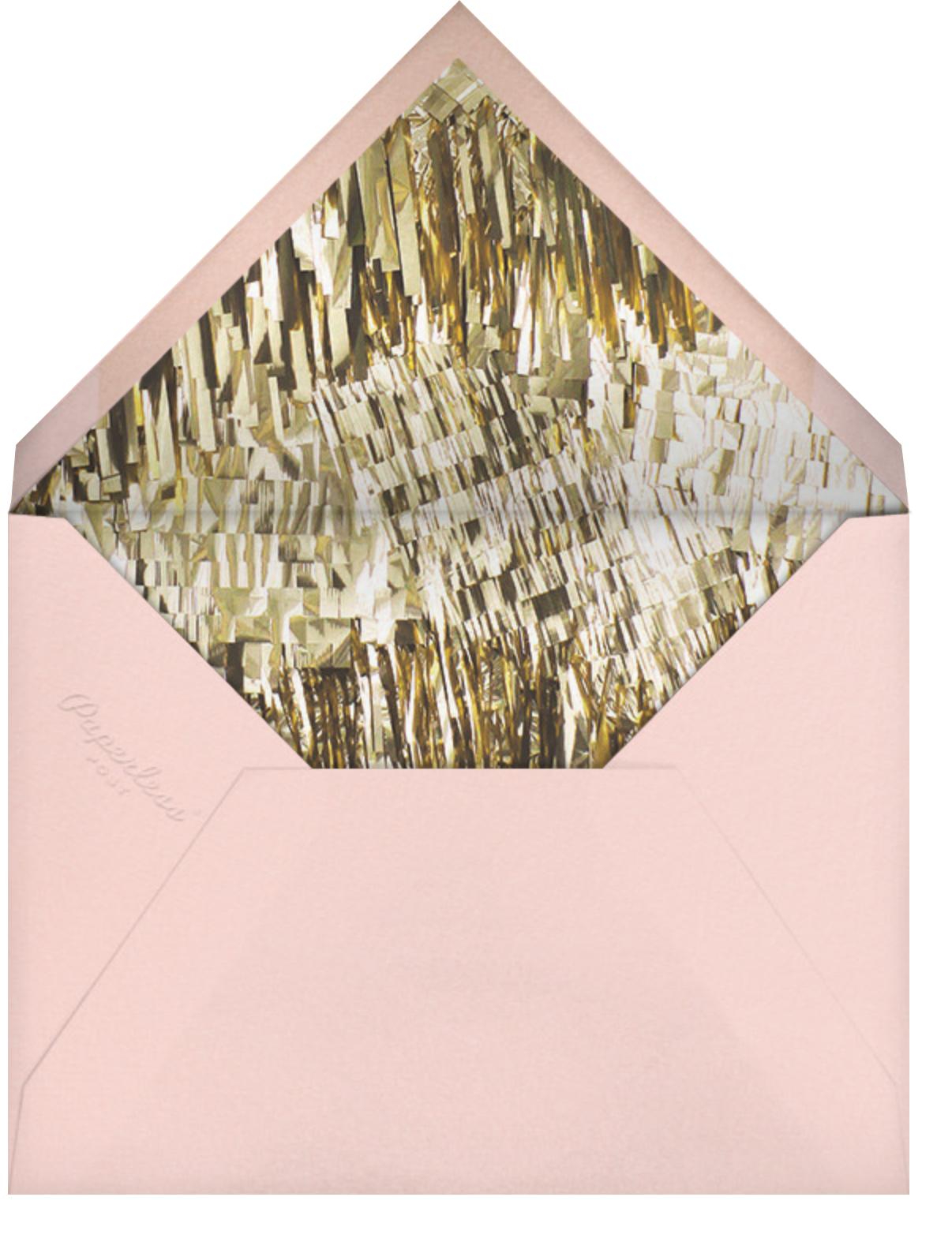Glimmer (Tall) - Pink - CONFETTISYSTEM - Baby shower - envelope back