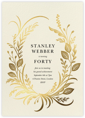 Festone - Paperless Post - Adult Birthday Invitations