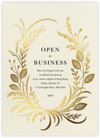 Festone - Paperless Post - Business event invitations
