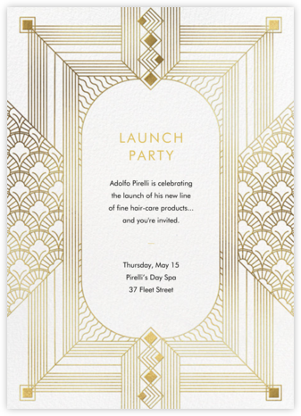 Ruhlmann - Paperless Post - Launch Party Invitations