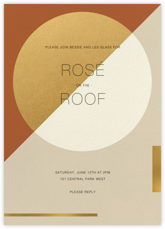 Danaë - Paperless Post - Invitations for Entertaining