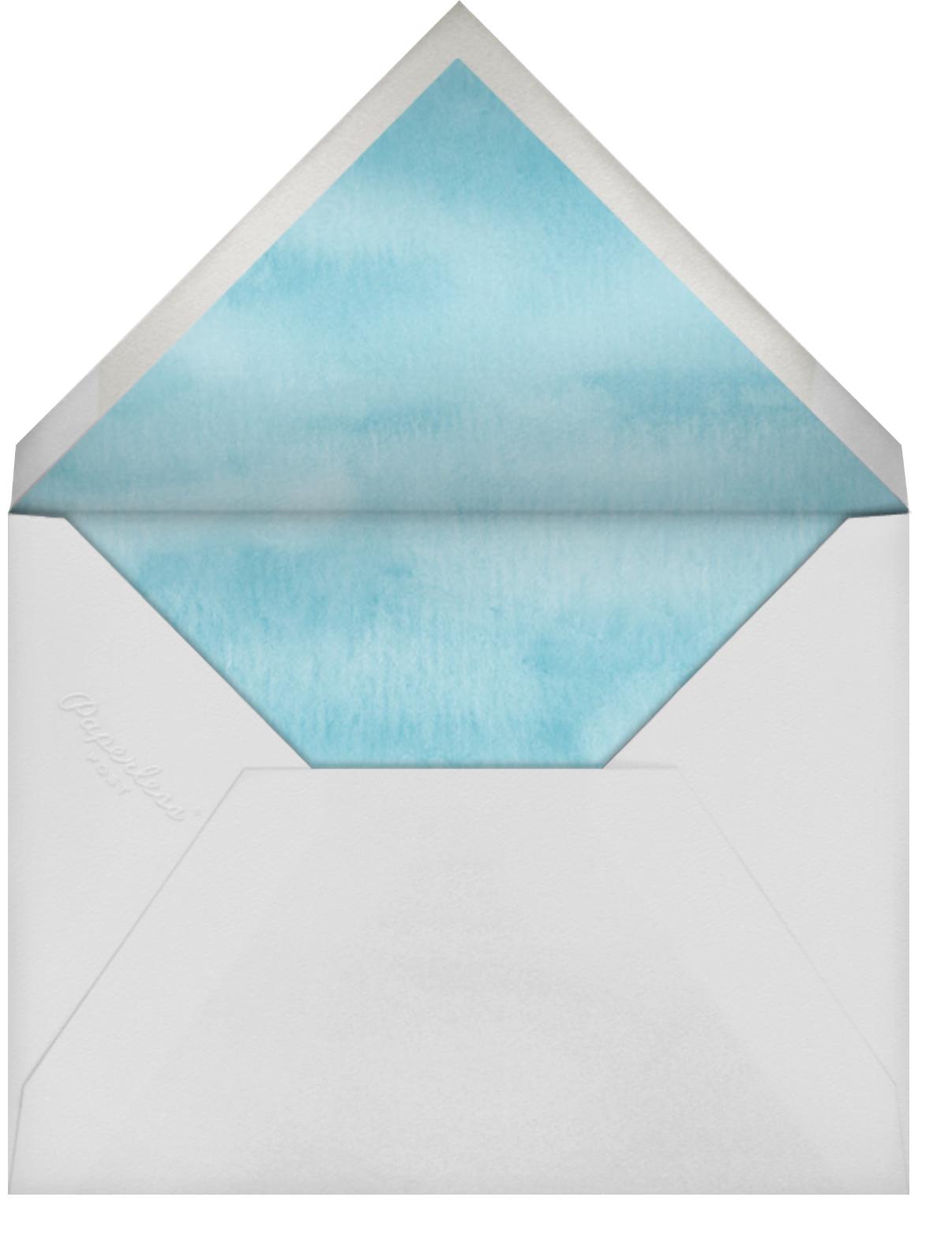 Key West - Felix Doolittle - Summer entertaining - envelope back