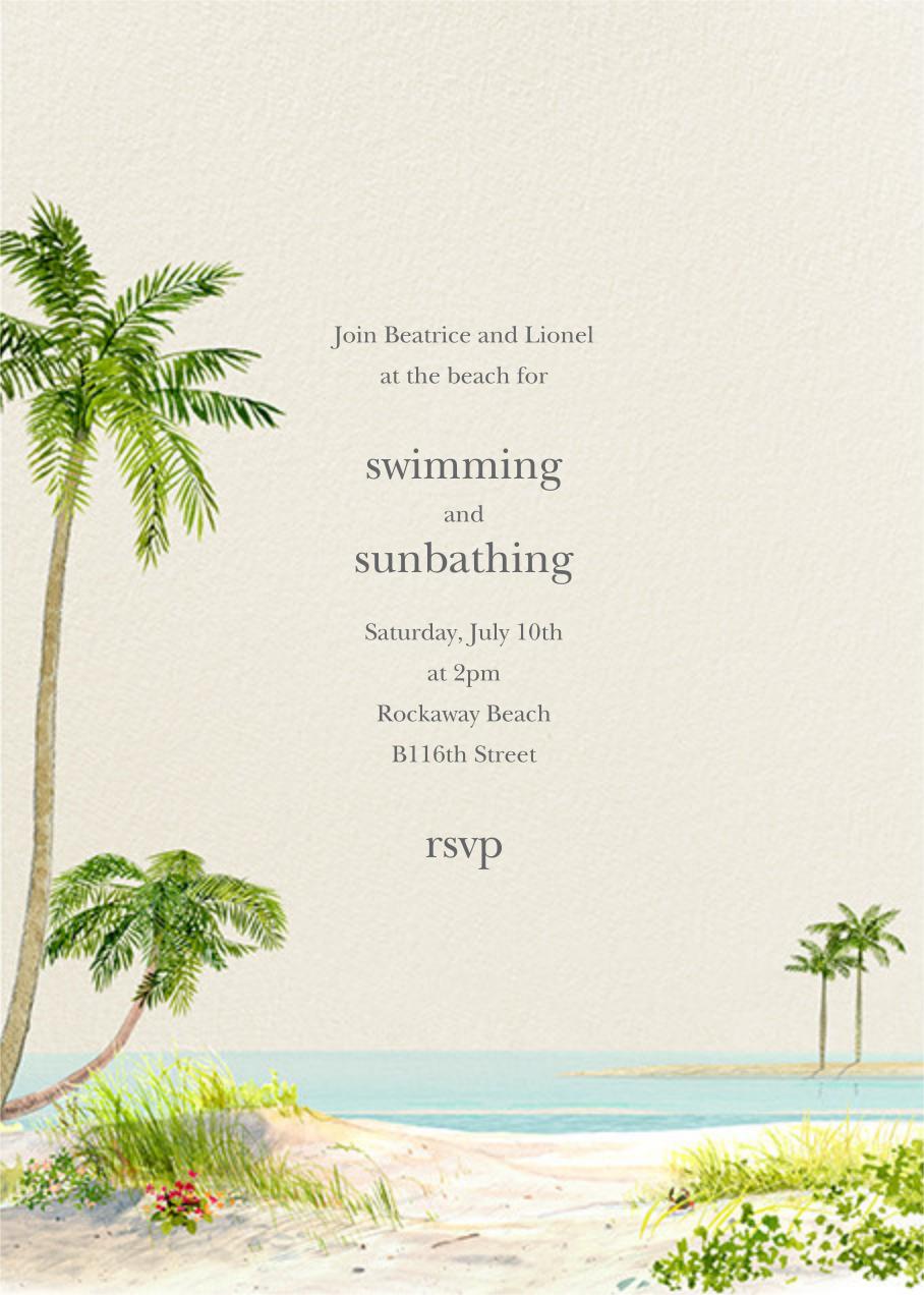 Key West - Felix Doolittle - Summer entertaining invitations
