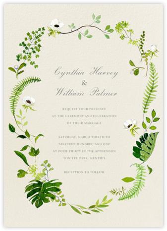 Naiad (Invitation) - Felix Doolittle - Wedding invitations
