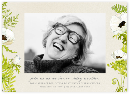 Naiad Photo - Felix Doolittle - Farewell party invitations