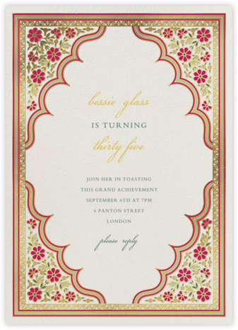 Niwas - Paperless Post - Adult Birthday Invitations