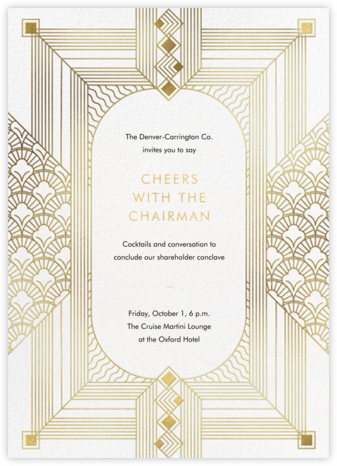 Ruhlmann - Paperless Post - Fundraiser Invitations