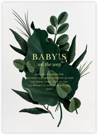 Herrgarde - Paperless Post - Baby shower invitations