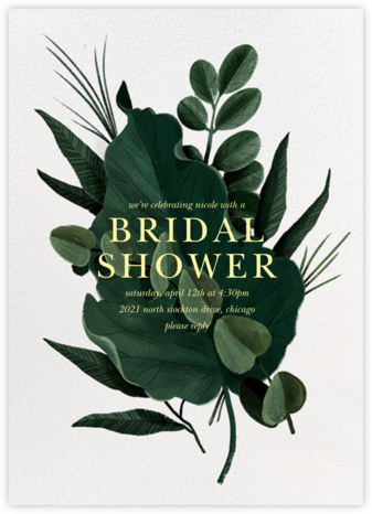 Herrgarde - Paperless Post - Bridal shower invitations