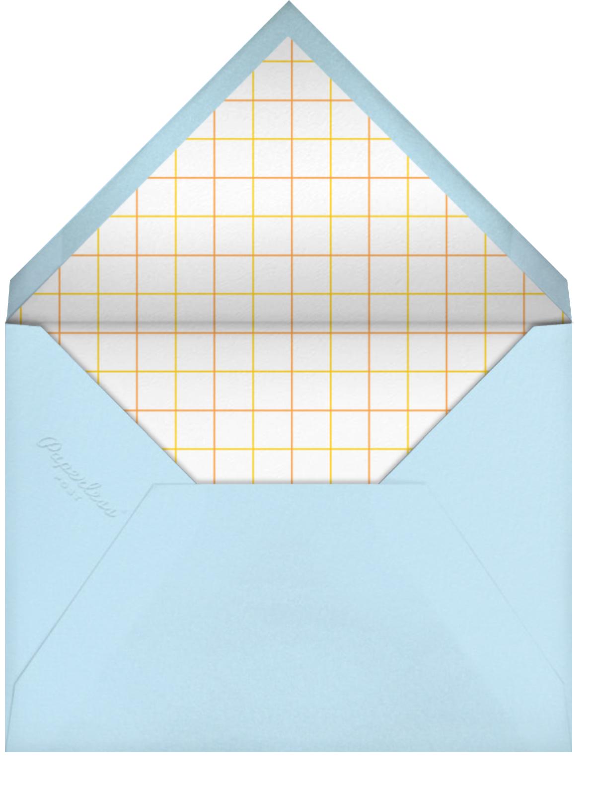 Balloons - Multi - Paperless Post - Kids' birthday - envelope back