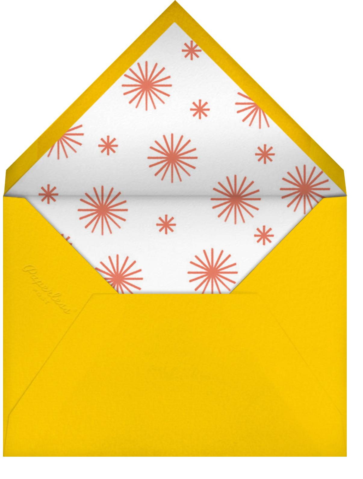 Three Rings - Paperless Post - Adult birthday - envelope back