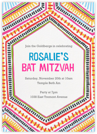 Best Brightest Ever - Crate & Barrel - Bar and Bat Mitzvah Invitations