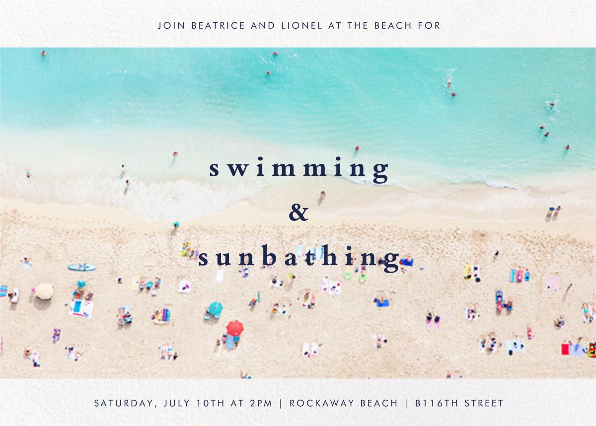 Beach - Gray Malin - Summer entertaining invitations