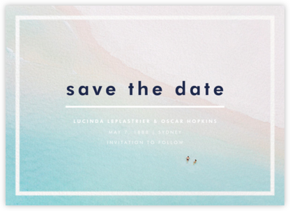 Swimmers - Gray Malin - Save the dates