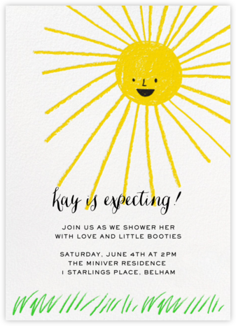 Moment in the Sun - Hello!Lucky - Celebration invitations
