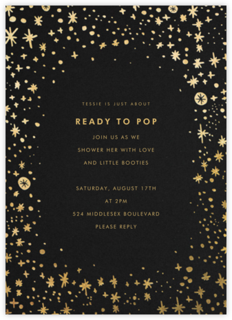 Stars in the Sky - Hello!Lucky - Baby Shower Invitations