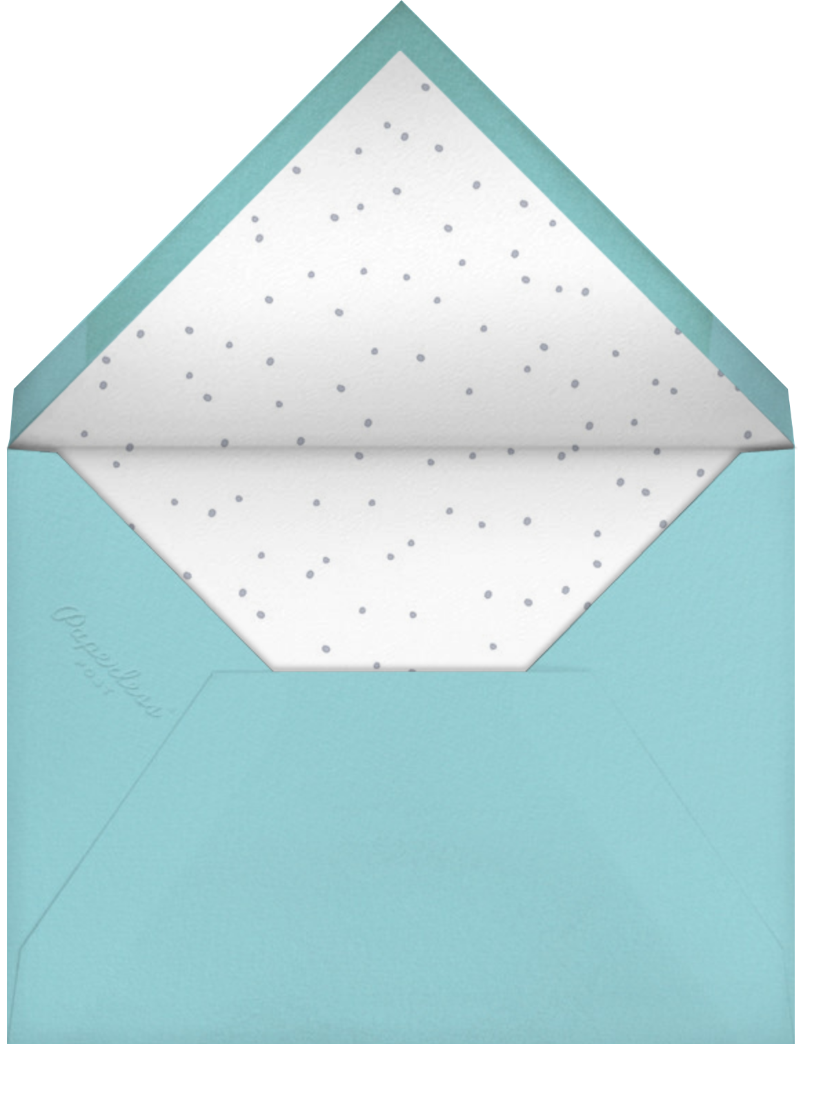 Birdie's Town (Horizontal) - Little Cube - Housewarming - envelope back