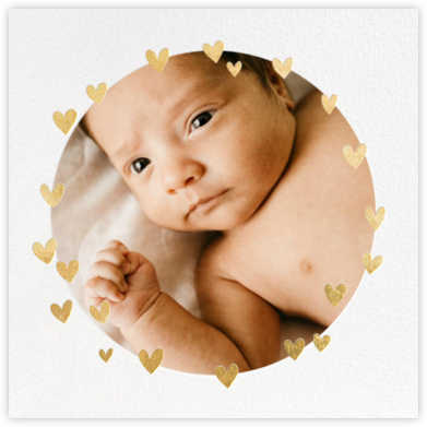 Little Heart Halo - Little Cube - Baby Shower Invitations