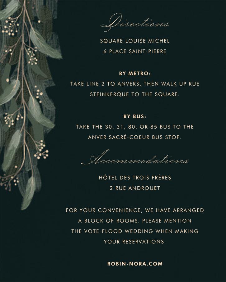 Verdure (Invitation) - Paperless Post - All - insert front