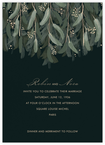 Verdure (Invitation) - Paperless Post - Wedding Invitations