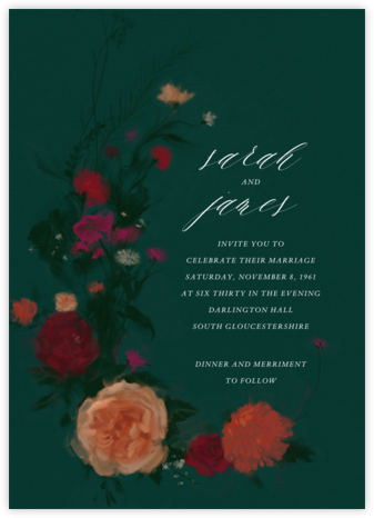 Bollongier (Invitation) - Paperless Post - Wedding invitations
