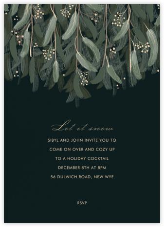Verdure - Paperless Post - Luncheon Holiday Invitations