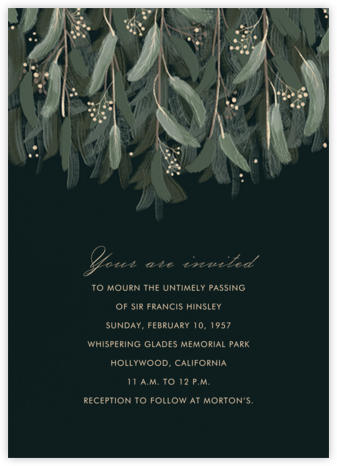 Verdure - Paperless Post - Online Party Invitations
