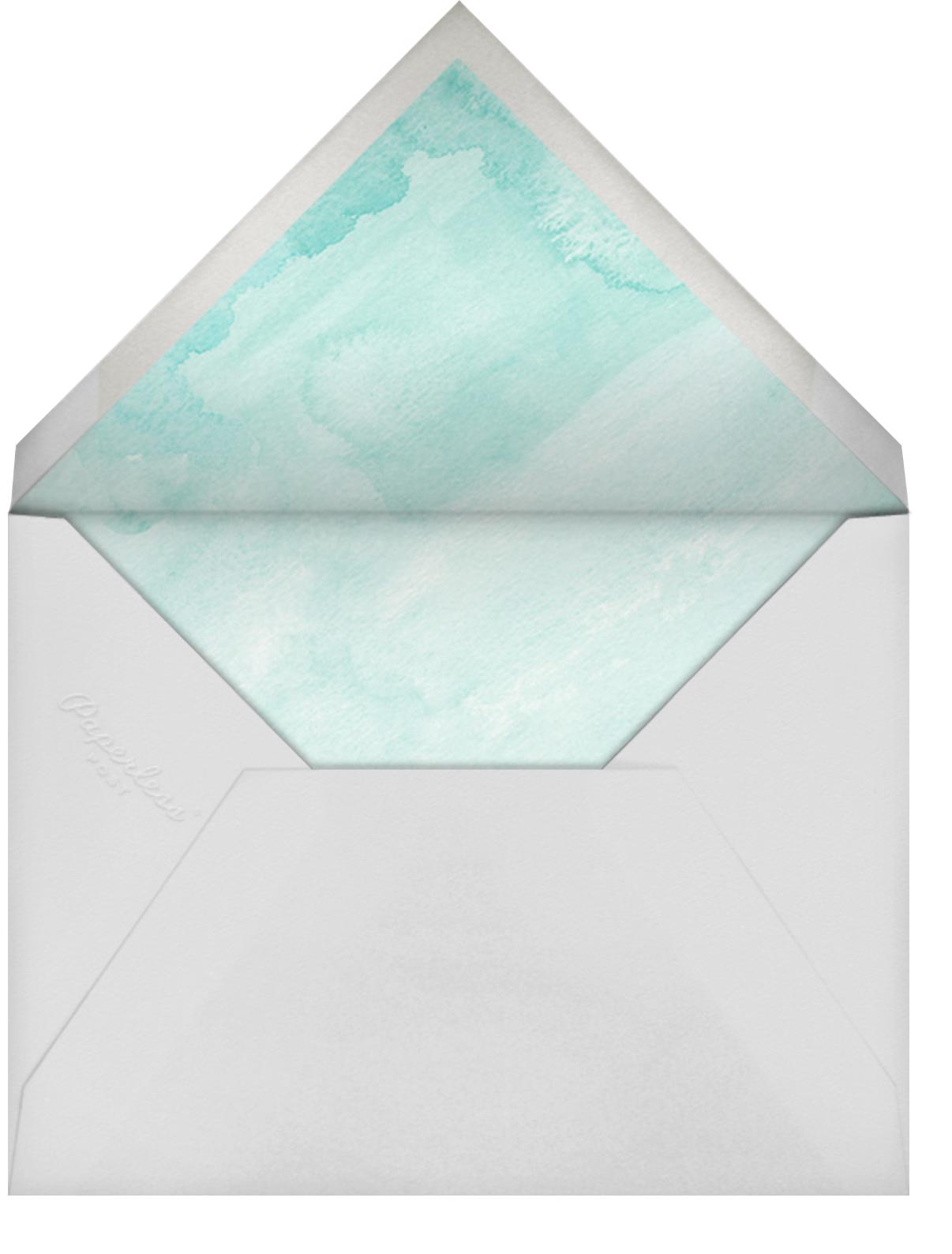 Luau - Paper Source - Bachelorette party - envelope back