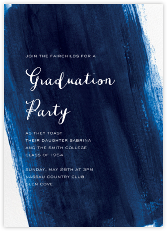 Sapphire - Paper Source - Celebration invitations