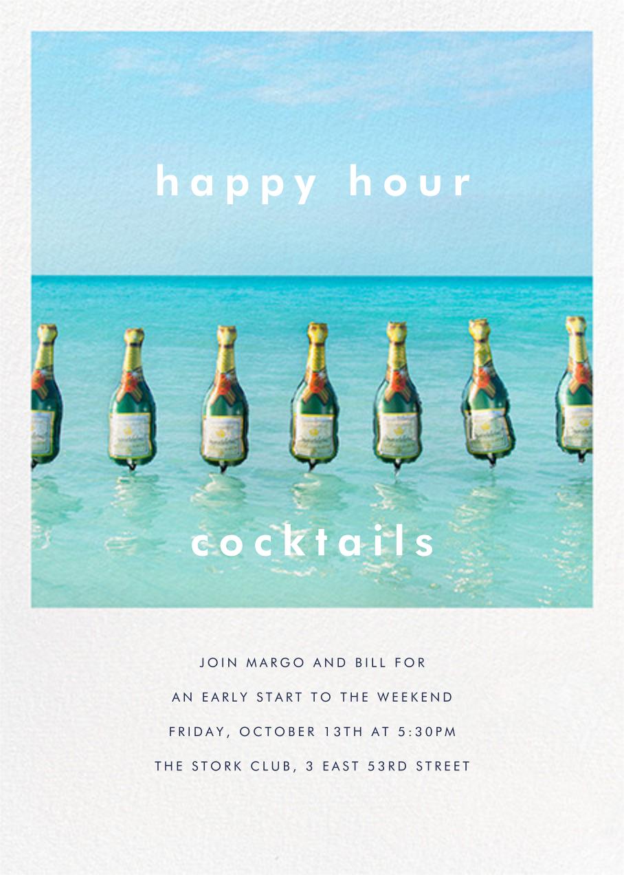 Champagne Float - Gray Malin - Summer entertaining invitations